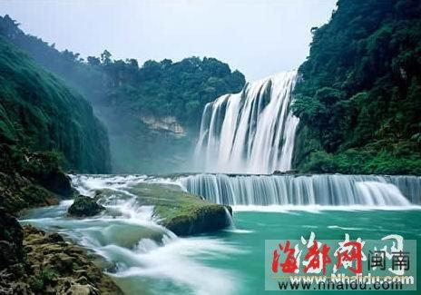 贵州 黄果树瀑布节空中游 全程1小时票价300元 高清图片