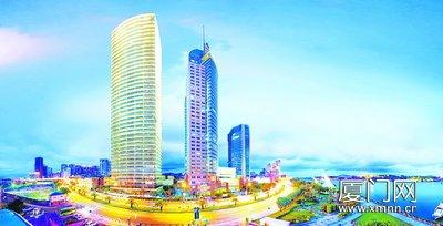 鹭江道将崛起厦门第一高楼将成新地标