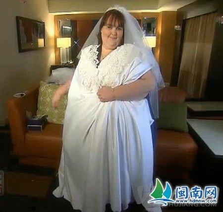 英语新闻:世界上最胖的女人嫁出去了 闽南网