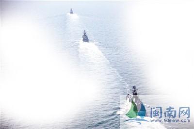 1月30日,中国海军舰艇编队赴西太平洋展开新年度远