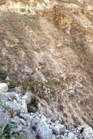 云南一面包车滚落山崖致12人死 伤者仍未脱险