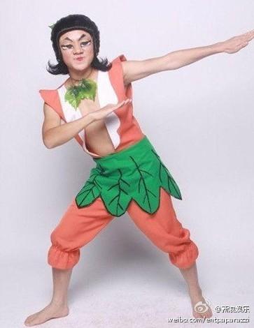 金刚葫芦娃真人_要拍真人版葫芦兄弟了啊,真心推荐@王祖蓝饰演红娃,橙娃,黄娃,绿娃,青