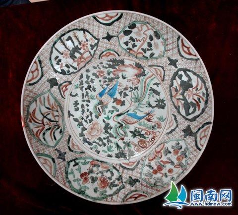 明朝时期漳州销往东南亚一带的红绿彩大碗
