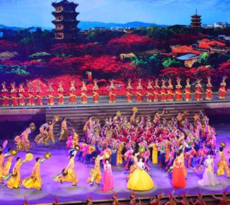 2013世界闽南文化节昨晚泉州开幕