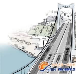 海沧大桥今起单双号限行 公交车、出租车不受限制