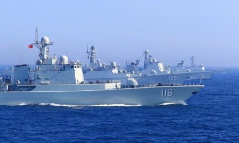 中俄今起举行海上军演 19艘舰艇将联合防卫作战