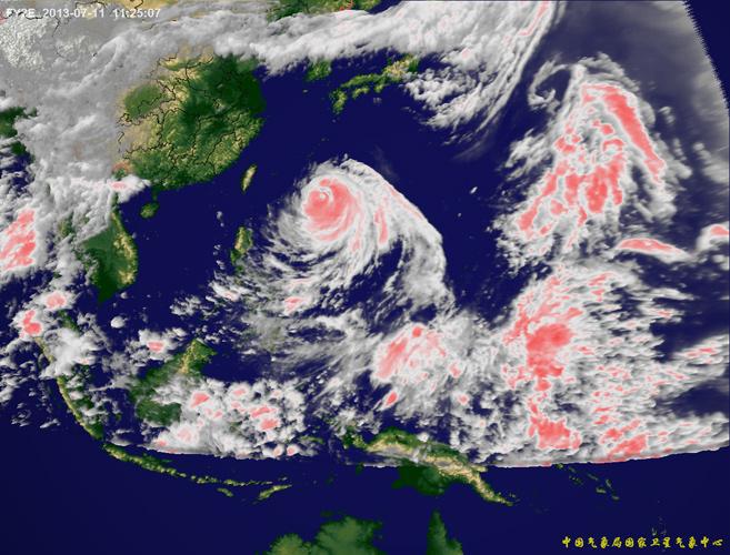 超强 苏力 台风卫星云图实时滚动播放 组图图片