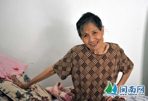 80岁的阿婆张美英