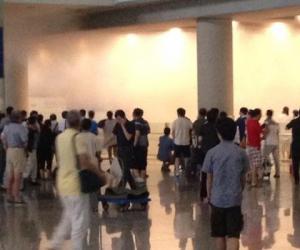 北京/T3航站楼B口冀中星在北京机场T3航站楼引爆炸药。