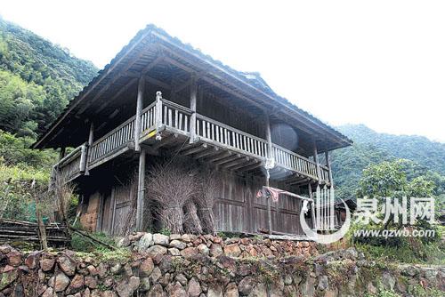 闽南农村土木结构房屋