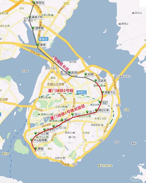 厦门地铁一号线近期开建 沿线房价普涨或催生新商圈