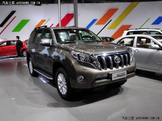 一汽丰田普拉多新款SUV车型上市高清图片