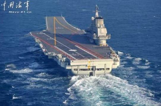 中国第一艘航空母舰辽宁舰完成南海训练及试验任务返航