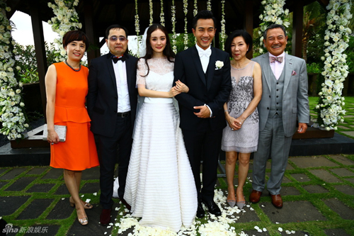 杨幂刘恺威巴厘岛婚礼全过程曝光 誓言:毫无保留爱你
