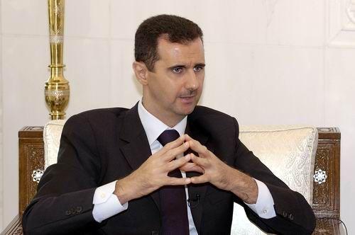 叙利亚总统巴沙尔 阿萨德罕见公开露面宗教活动