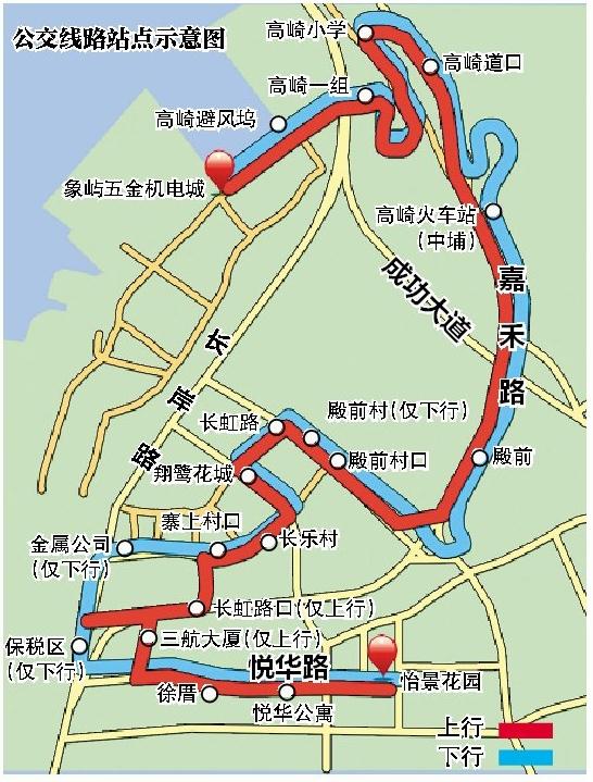 殿前街道 社区公交 启动 432路公交线路图