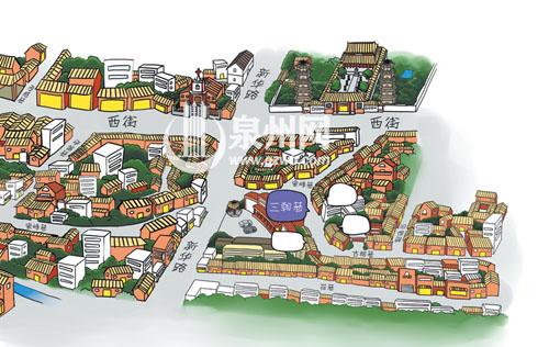 泉州野生动物园平面图