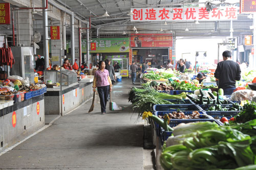 """""""优等生""""双阳菜市3月集贸市场考评仅得第六名"""