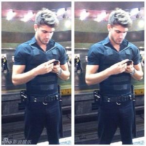 巴西最帅地铁保安guilherme leao 兼职模特肌肉自拍惹