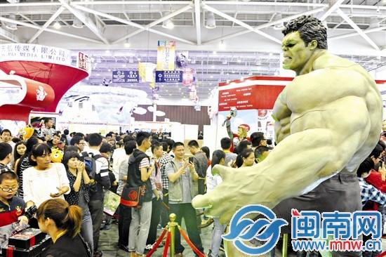 2014厦门国际动漫节 产业后盾托起动漫盛会