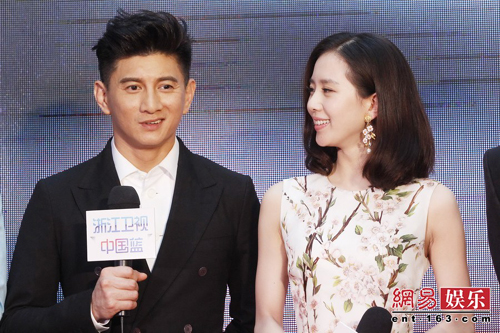 刘诗诗谈 步步惊情 与吴奇隆激吻戏 突然吻过来吓傻