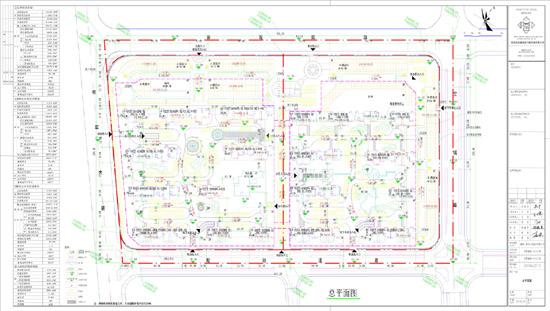 关于《云霄福锦61中心广场》总平面的批后公开