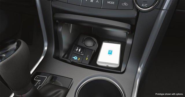 2015年丰田凯美瑞汽车将支持车内无线充电