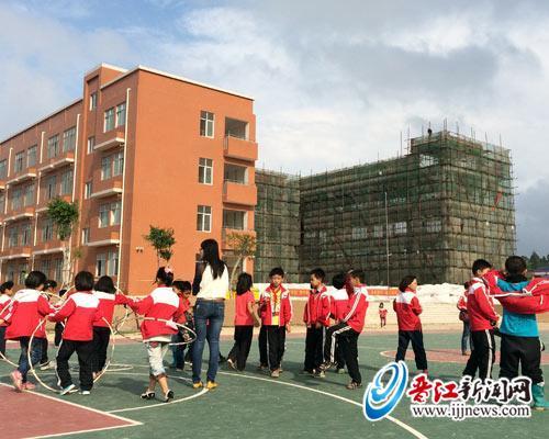 刘庄磁灶镇前美校区新小学小学综合楼已v校区图片教学的晋江图片