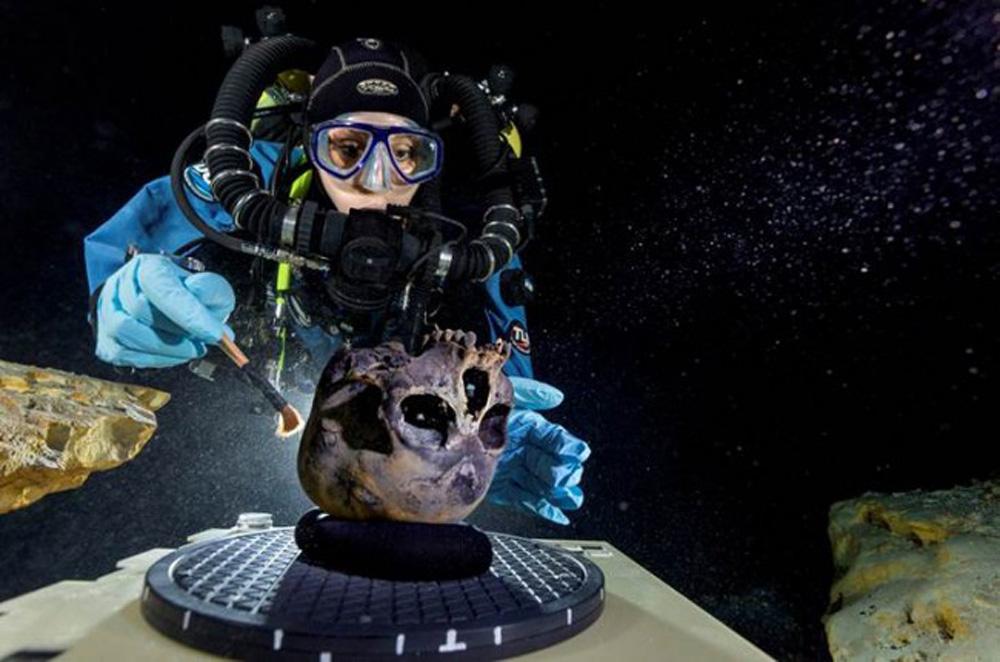 下骸骨大的囹�a_万年少女骸骨揭美洲人起源