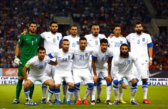 2014巴西世界杯希腊国家队阵容 23人大名单 图图片