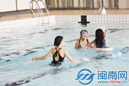泉州市区侨乡体育馆室内游泳池