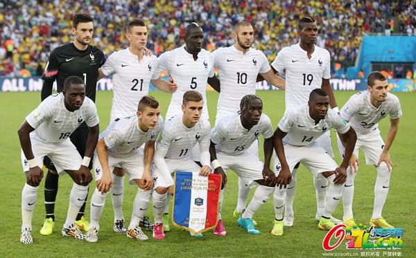 2014世界杯1\/8决赛16强淘汰赛法国VS尼日利