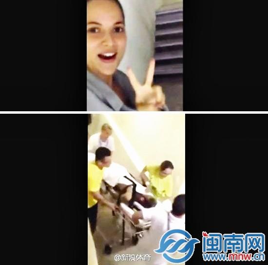 偷拍小护士_内马尔椎骨骨裂送医遭偷拍 医院美女护士被解雇