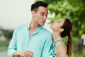 《如果爱》张俪王阳明秀甜蜜亲亲 台湾拍夏日清新搞怪写真