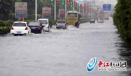 泉安路安海丙厝积水严重。